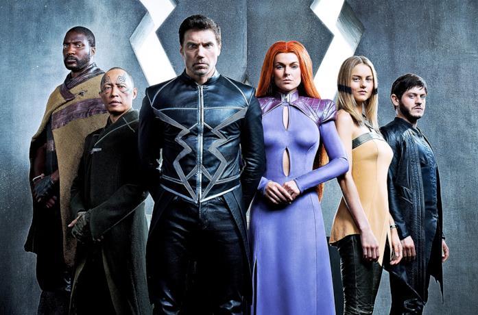 Il cast di Inhumans