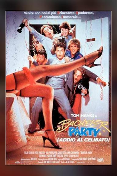 Poster Bachelor Party - Addio al celibato