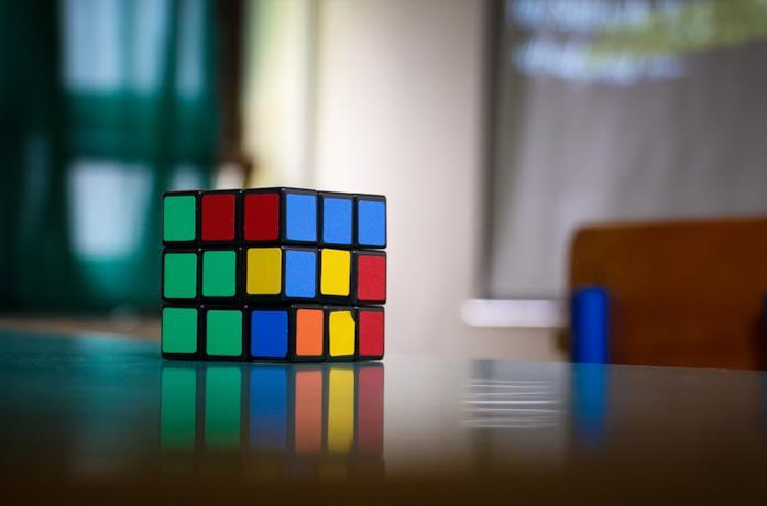Un'immagine del cubo di Rubik