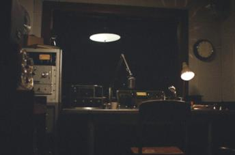 La stazione radio deserta