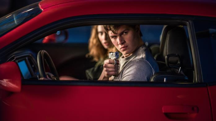 Una scena tratta da Baby Driver - Il genio della fuga