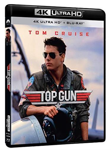 Cofanetto Blu-ray di Top Gun in 4K Ultra HD