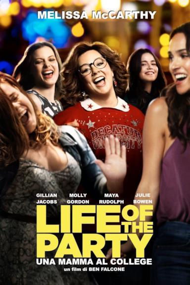 Poster Life of the Party - Una mamma al college