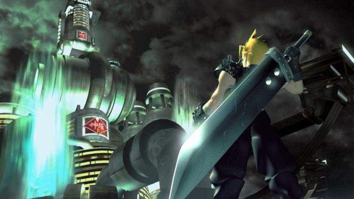 Cloud in un'immagine da Final Fantasy VII