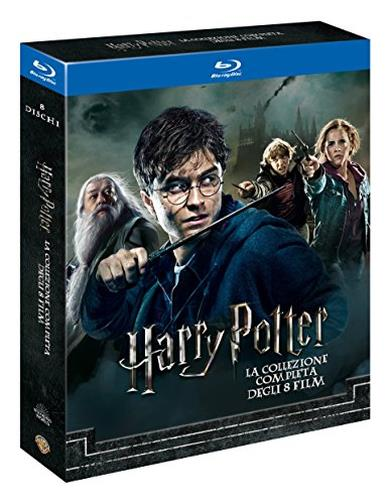 Cofanetto Blu-ray di Harry Potter - Film 1-8