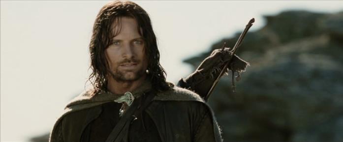 Aragorn è l'erede al trono di Gondor