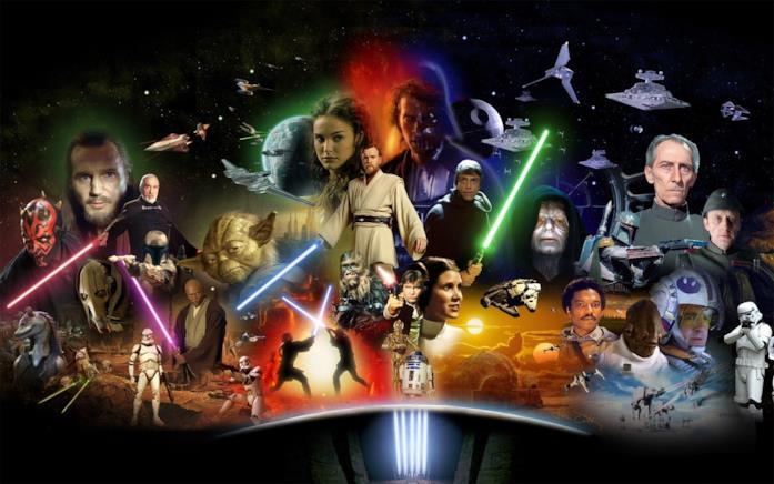L'ordine di film e serie TV di Star Wars