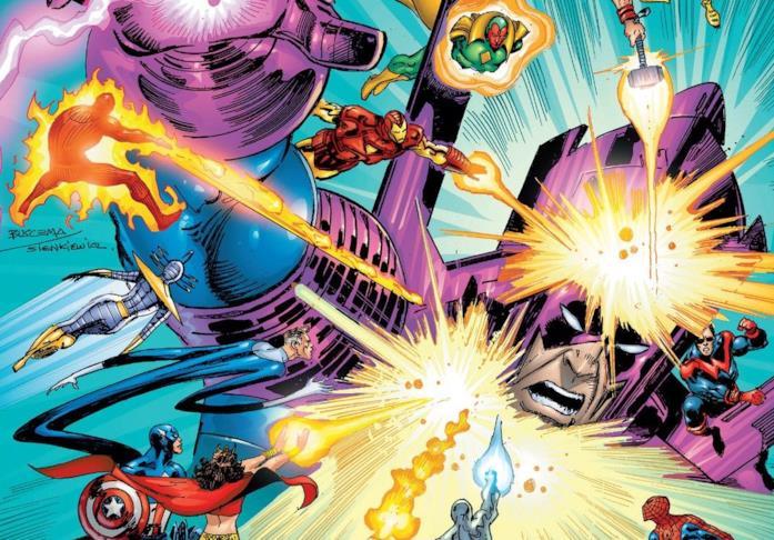 Dettaglio della cover di Galactus The Devourer #3