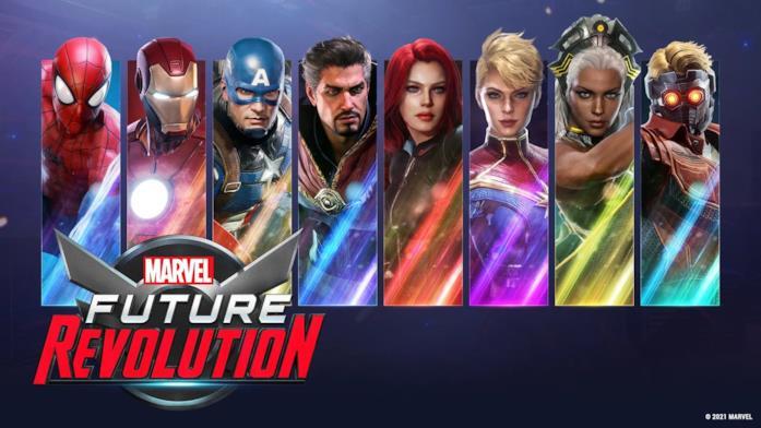 Tutti gli eroi di Marvel Future Revolution