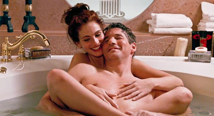 La scena nella vasca