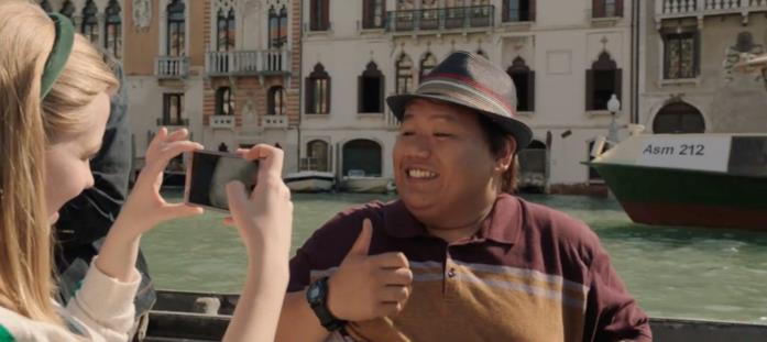 Ned in una scena di Spider-Man: Far From Home