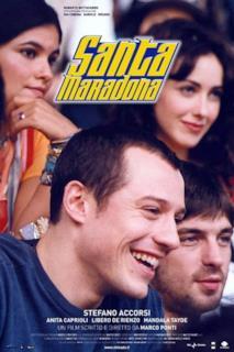 Poster Santa Maradona
