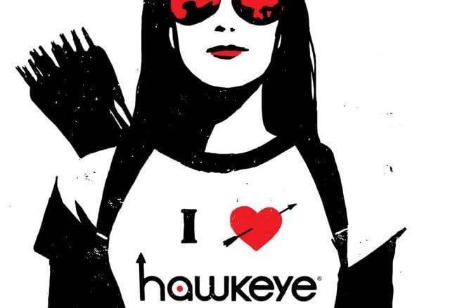 Dettaglio della cover di Hawkeye #9
