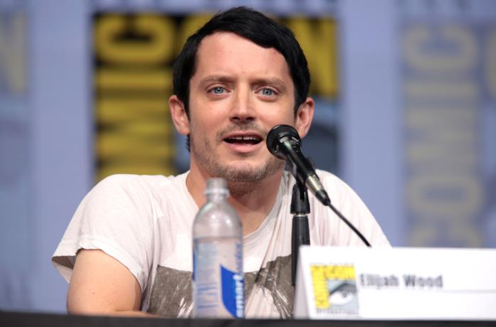 Elijah Wood al Comic Con di San Diego