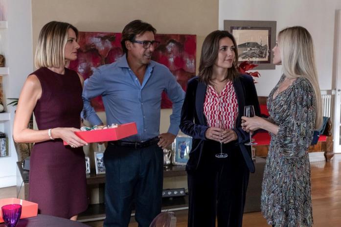 Christiane Filangieri, Davide Devenuto, Serena Rossi e Valentina D'Agostino