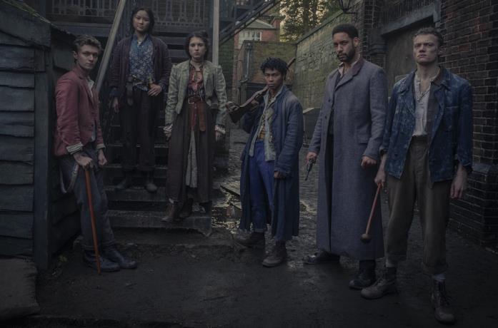 I protagonisti de Gli irregolari di Baker Street