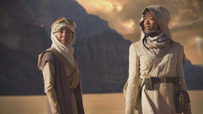 Il cast in una scena di Star Trek: Discovery