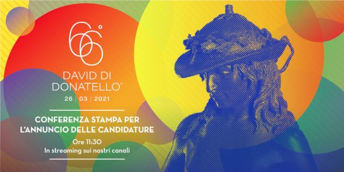 Il poster dei David di Donatello 66