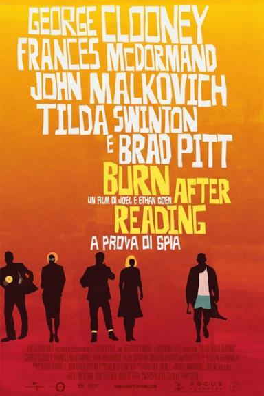 Poster Burn After Reading - A prova di spia