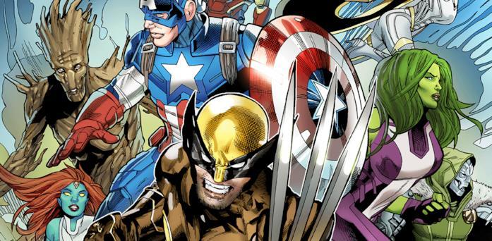 Illustrazione dall'album Fortnite X Marvel - Thor: Guerra per il Nexus