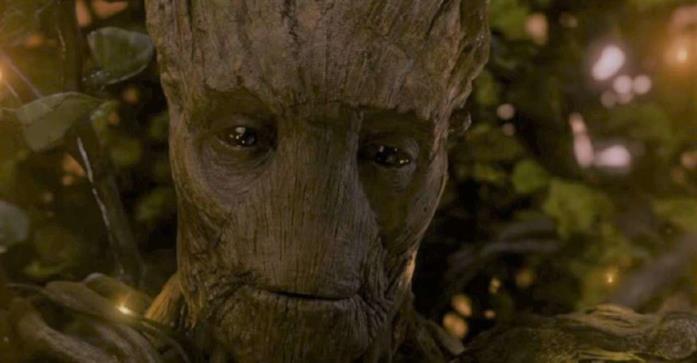 Groot in versione adulta nel film Guardiani della Galassia