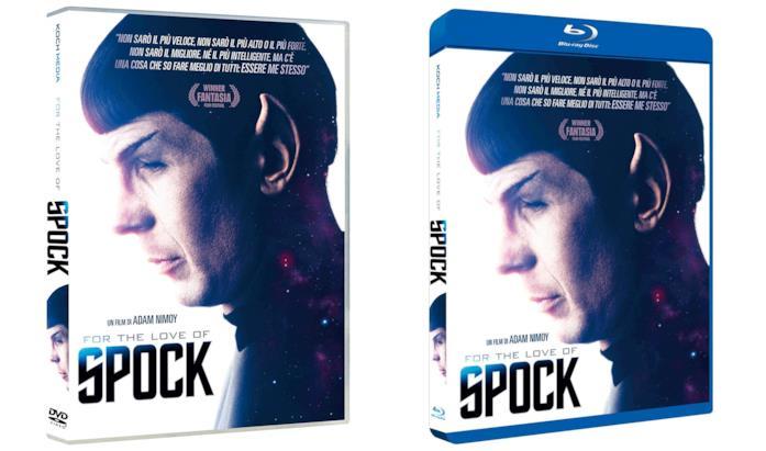 For the Love of Spock: i cofanetti DVD e Blu-ray