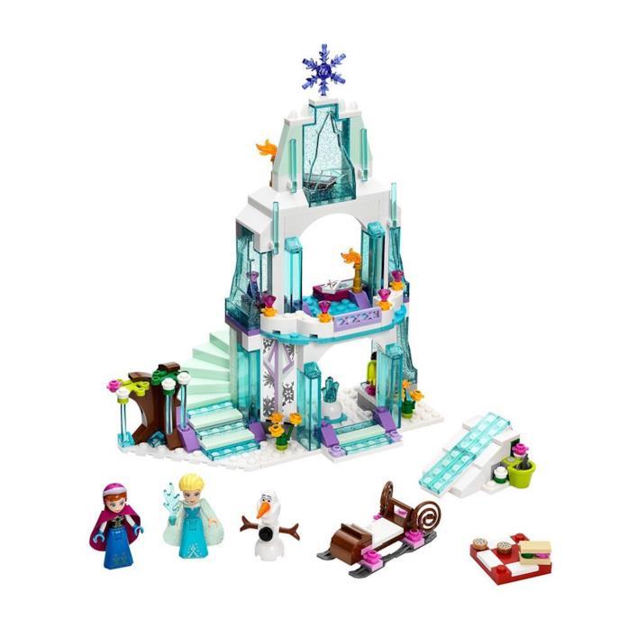 Dettagli del set di LEGO Il castello di ghiaccio di Elsa