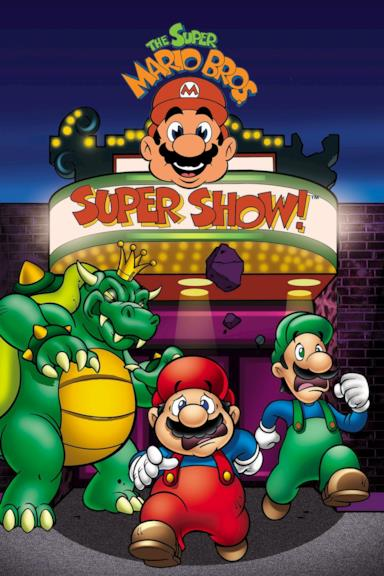 Poster The Super Mario Bros. Super Show!