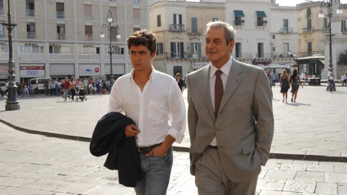 Ennio Fantastichini con Riccardo Scamarcio