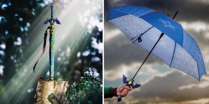 L'ombrello Legend of Zelda: Song of Storms nel dettaglio