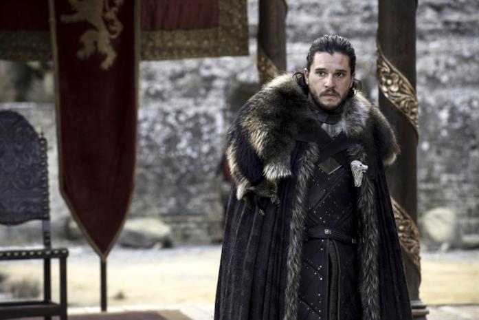 Jon Snow turbato