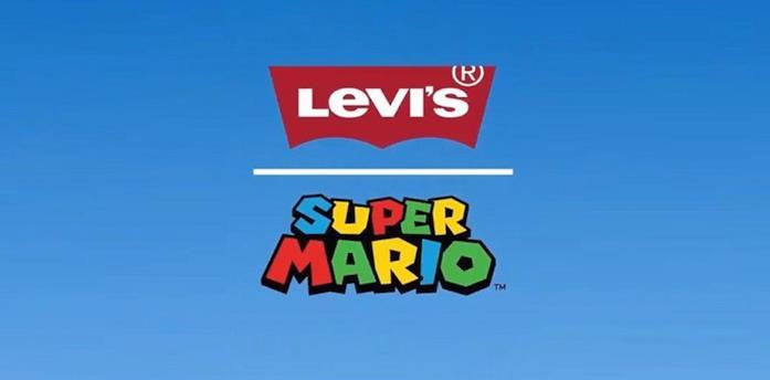 Il logo della partnership tra Nintendo e Levi's