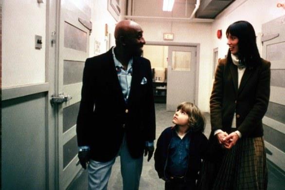 Wendy e Danny con Hallorann visitano la cucina