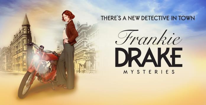 La locandina di Frankie Drake Mysteries