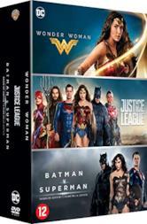 Coffret dc comics 3 films : justice league ; wonder woman ; batman V superman, l'aube de la justice