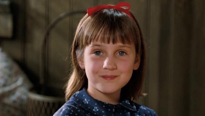 Matilda in una scena del film