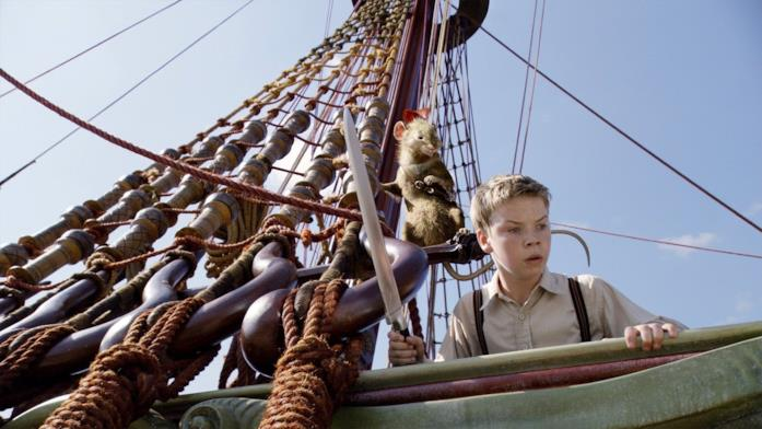Le cronache di Narnia - Il viaggio del veliero, una scena del film con Will Poulter