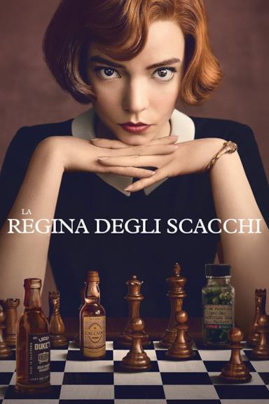 Poster La regina degli scacchi