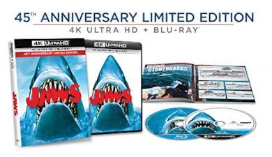 Cofanetto Blu-ray de Lo Squalo in 4K Ultra HD