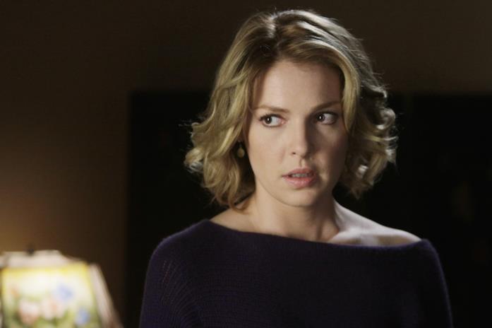 Katherine Heigl nell'ultima scena di Izzie in Grey's Anatomy