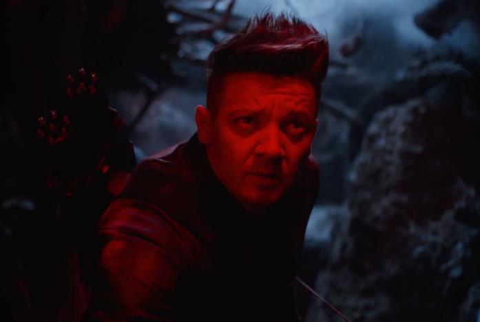 Occhio di Falco in Avengers: Endgame