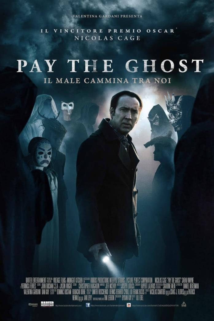 Pay the Ghost poster ufficiale