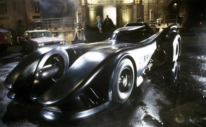 La Batmobile nel film Batman del 1989