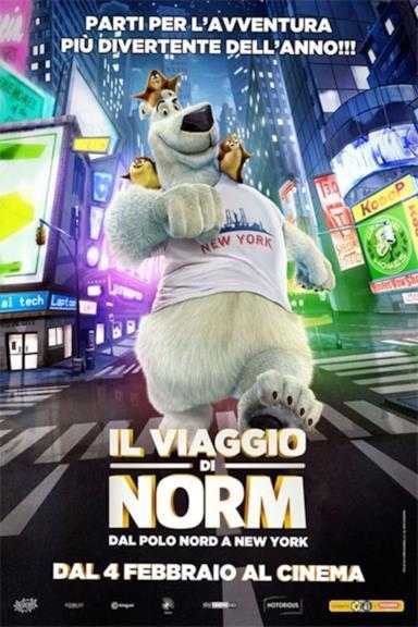 Poster Il viaggio di Norm