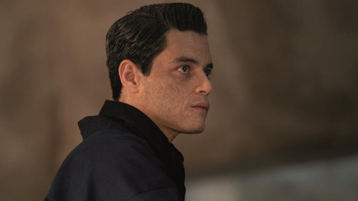 Un'immagine di Rami Malek nei panni di Safin