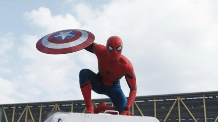 Spider-Man entra in scena in Captain America: Civil War
