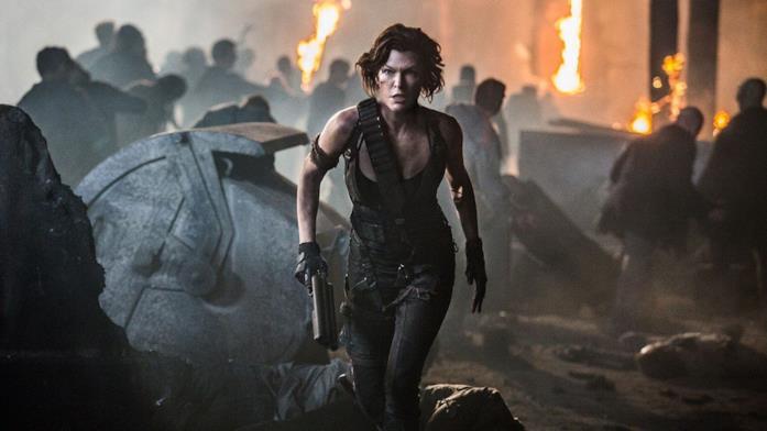 Milla Jovovich, la protagonista della saga cinematografica di Resident Evil
