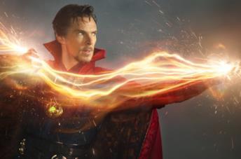 Benedict Cumberbatch è Stephen Strange nel MCU
