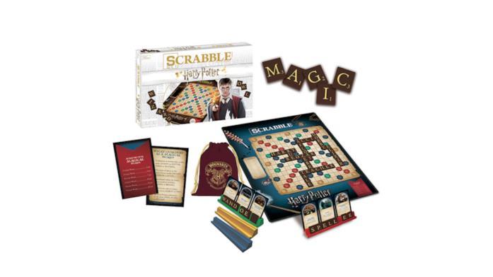 Il contenuto di Scrabble: The World of Harry Potter