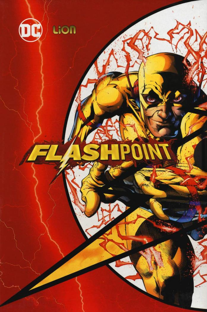 Uno degli antagonisti di Flash sulla copertina del volume a fumetti